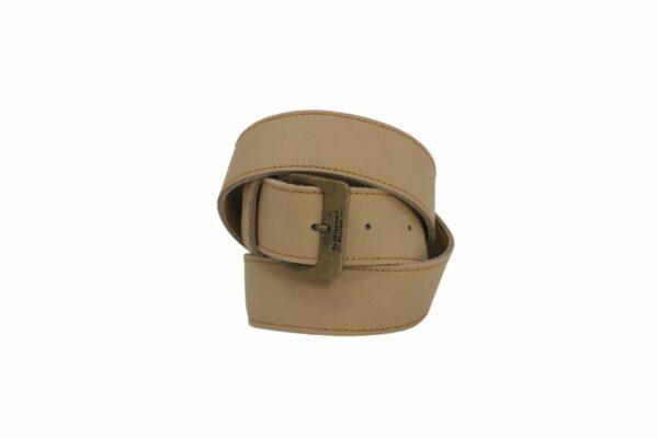 Ladies Broad Bone Leather Belt