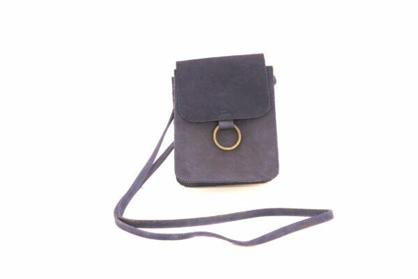 Brooklyn crossbody handbag in navy leather